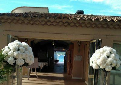 bouquets d hortensias