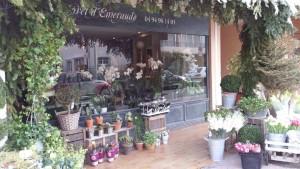 Boutique extérieure - La Foret d'Emeraude - Fleuriste Saint-Tropez