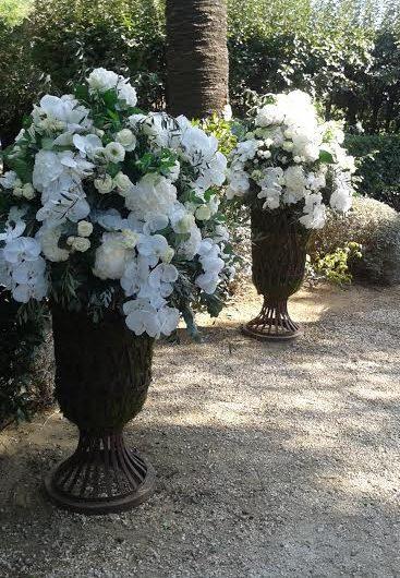 vases médicis fleurs st tropez